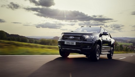 Exclusive New Ford Ranger Black Edition Pickup to Make Debut at Frankfurt Motor Show